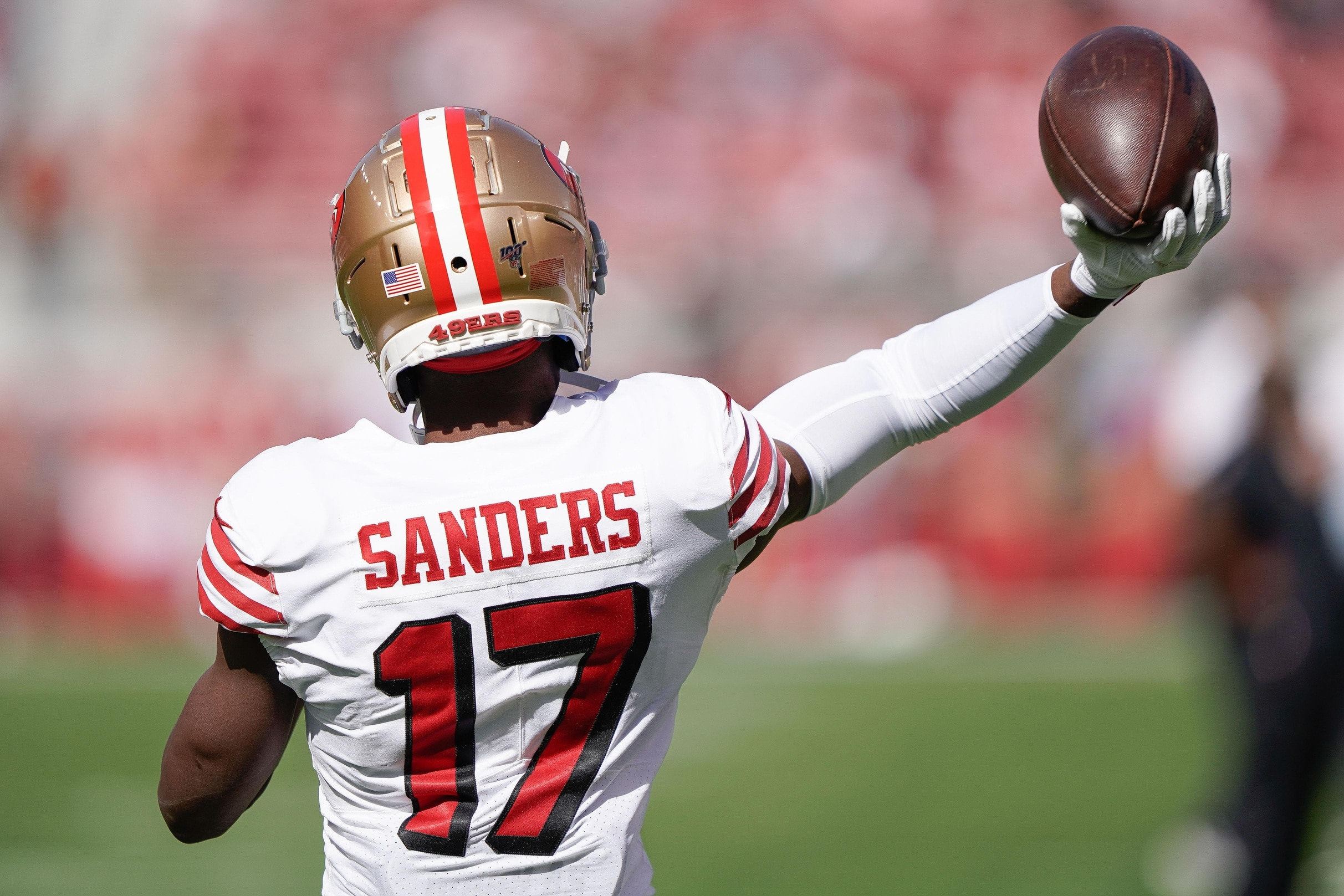 Report: Saints sign Pro Bowl WR Emmanuel Sanders to two-year, $16 ...