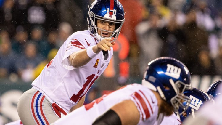 New York Giants quarterback Eli Manning was one of the NFL's top Iron Men