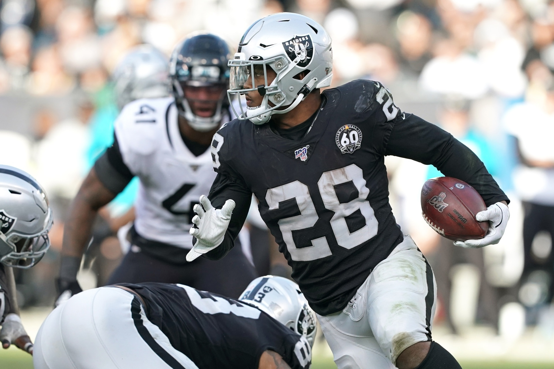 Raiders Josh Jacobs Underwent Surgery For Skin Infection Could Play Sunday