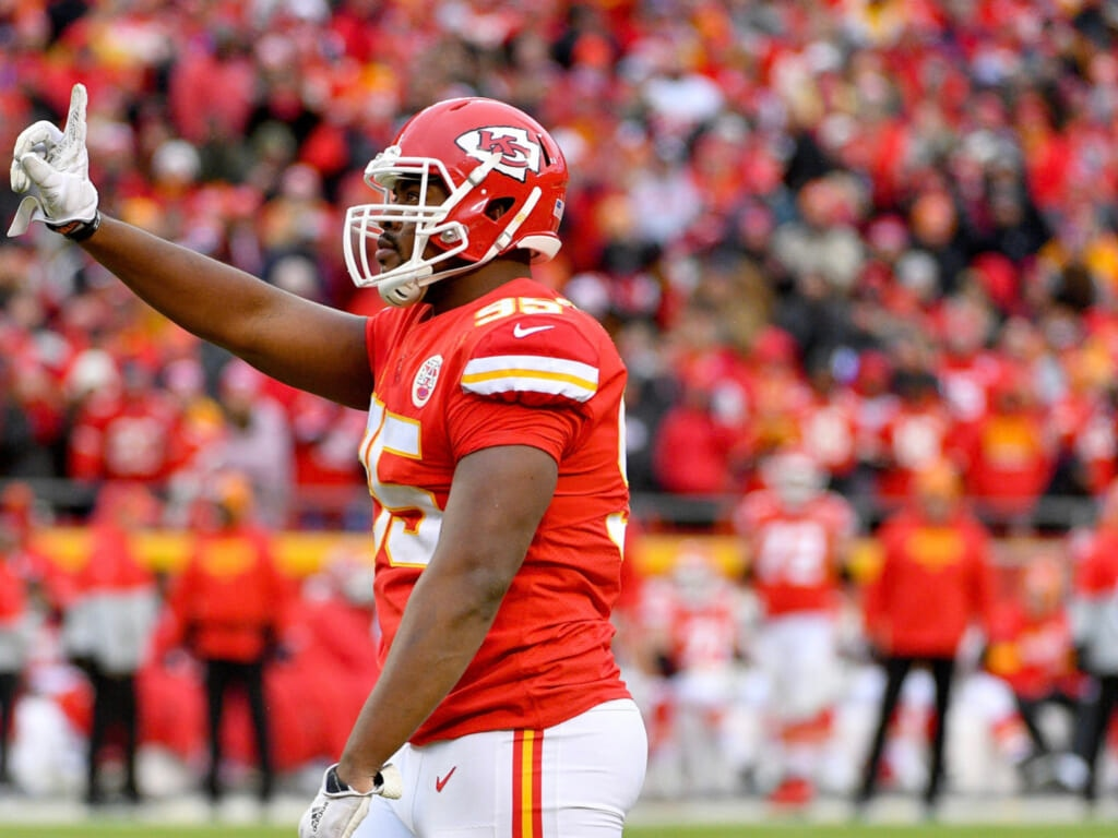 Chris Jones Chiefs inactive