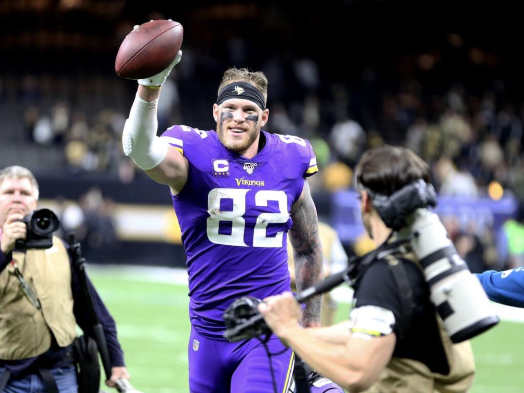 Minnesota Vikings to release Kyle Rudolph