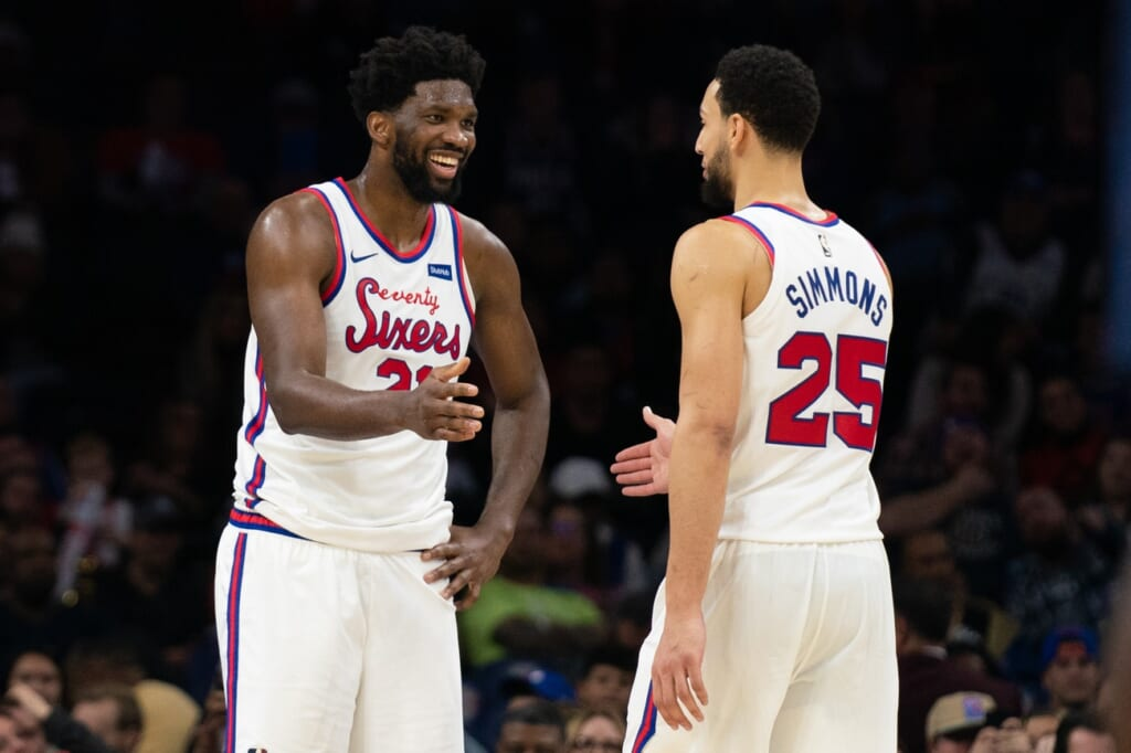 Joel Embiid shades Ben Simmons over shooting ability