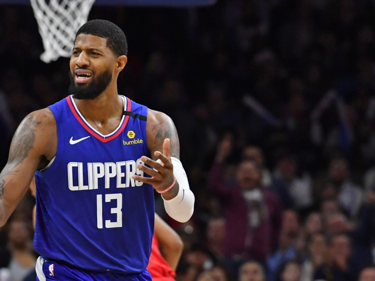 NBA fines Clippers Paul George $35,000 for criticizing officials