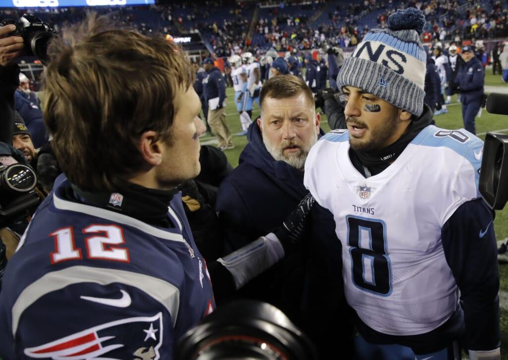 Could Marcus Mariota be the next Patriots quarterback?