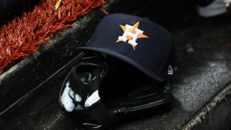 Astros had during spring training game against the Rays