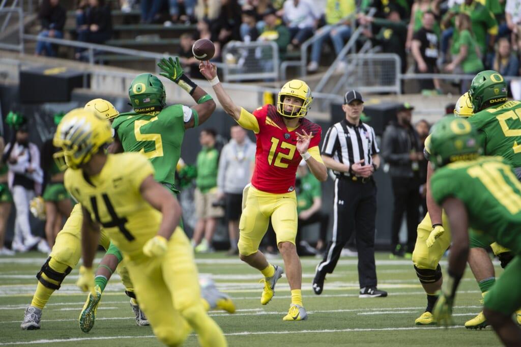 Oregon Tyler Shough