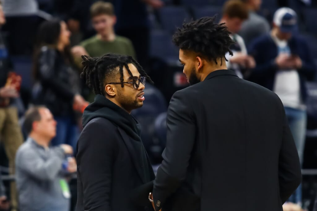 Minnesota Timberwolves: Karl-Anthony Towns, D'Angelo Russell
