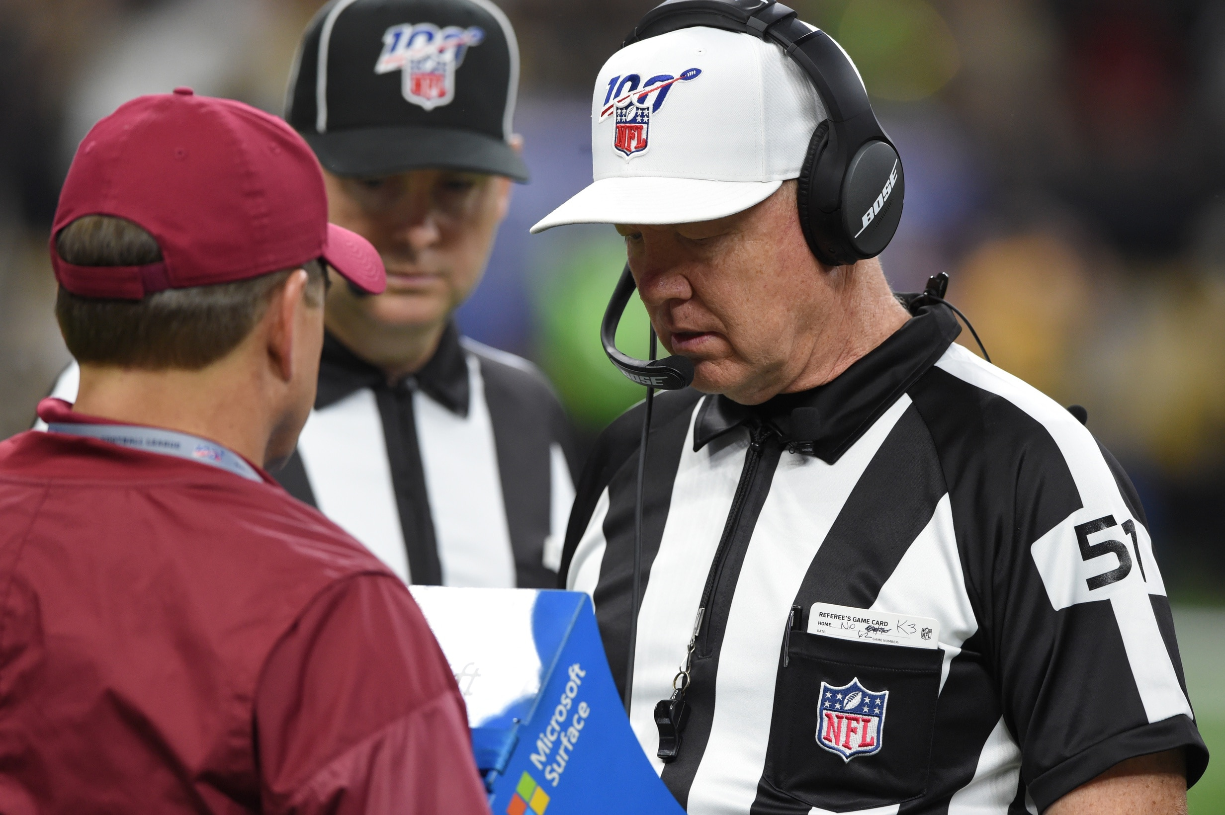 Report: NFL, officials uninterested in use of 'Sky Judge' despite coaches pushing for it