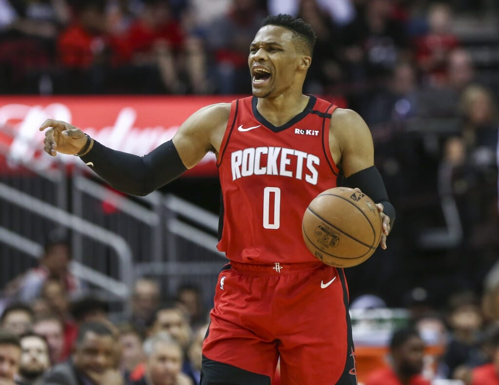 Hornets interested in Russell Westbrook trade