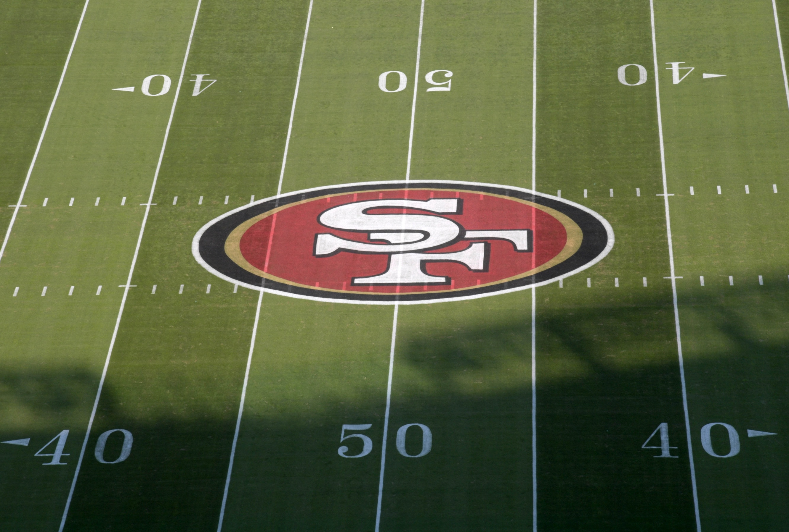 LOOK: 49ers' GM John Lynch shows off his at-home draft room
