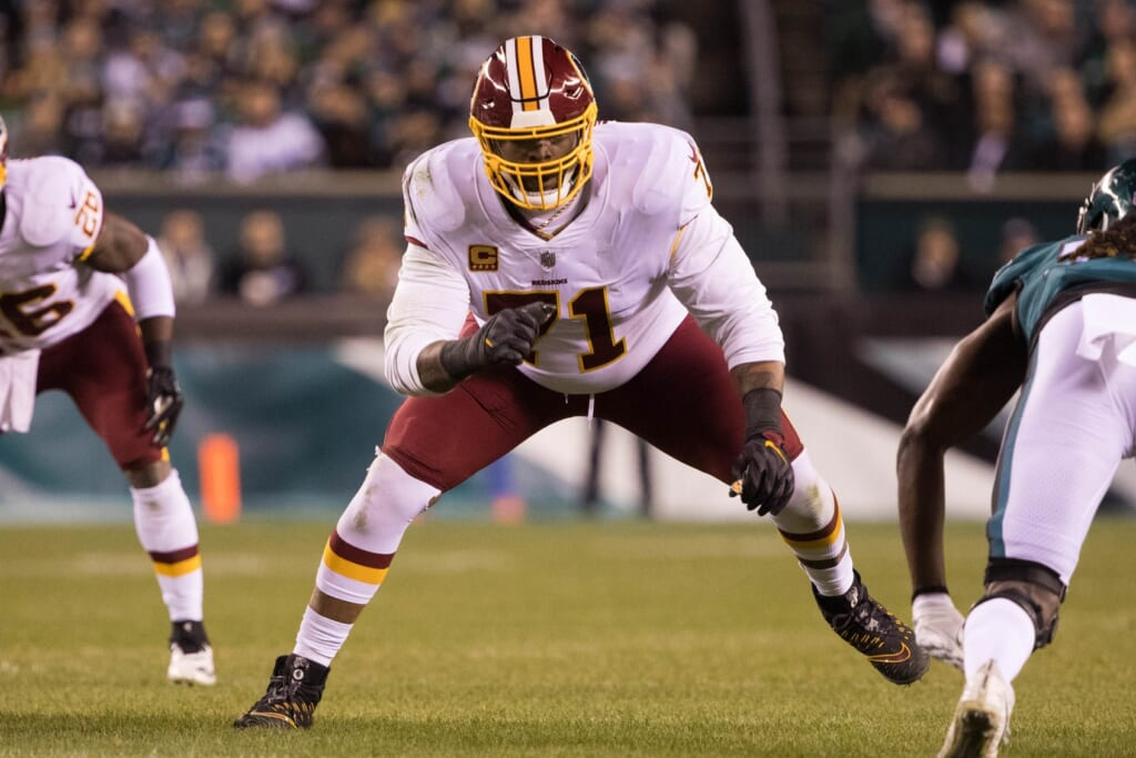 Trent WIlliams, Redskins, trade