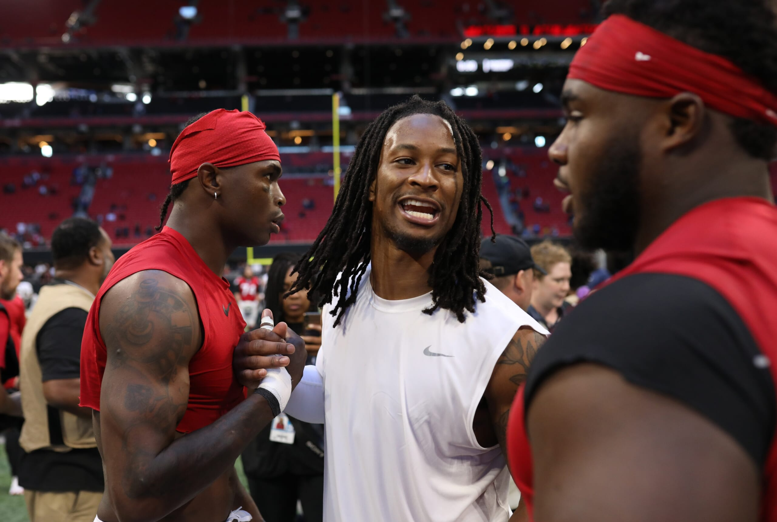 Falcons Rb Todd Gurley I Haven T Worked Out This Much In My Life