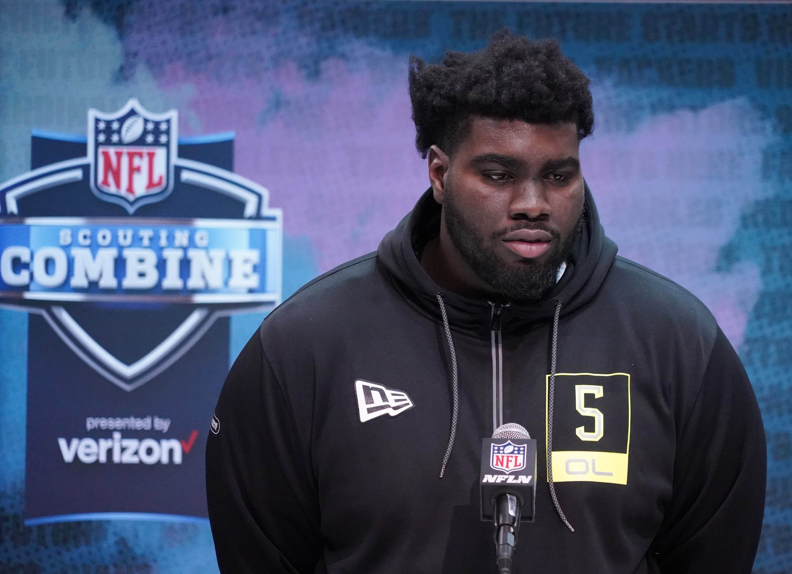 WATCH: Top NFL Draft prospect shows insane strength by pushing truck