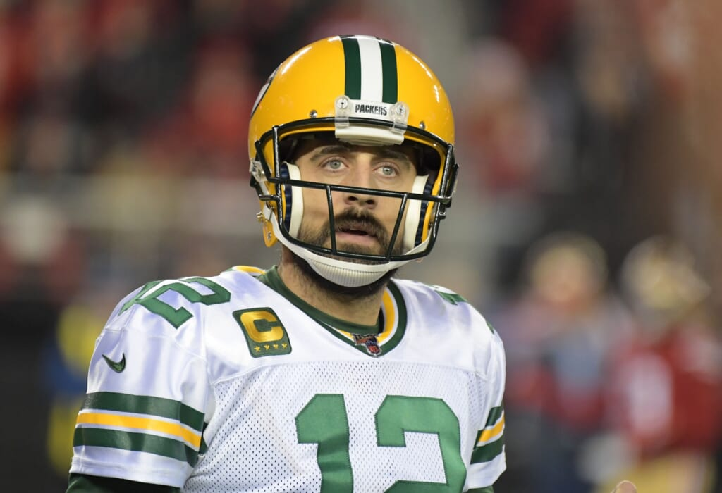 Aaron Rodgers is patiently waiting for the Packers to patch things up (they won't)