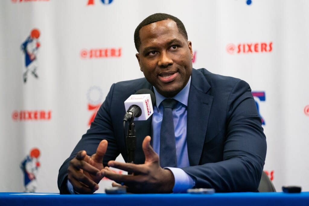 Report: Sixers' Elton Brand candidate for Knicks GM job