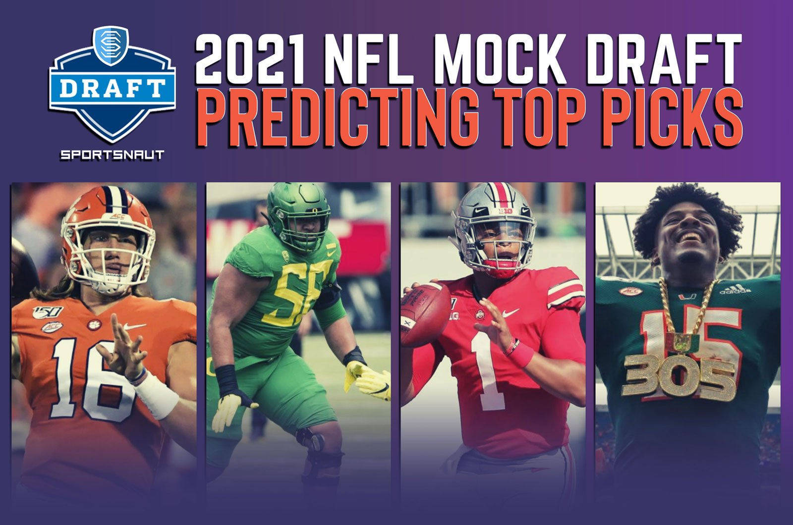 Best Rookie Wr 2021 2021 NFL mock draft: Predicting top picks from loaded class