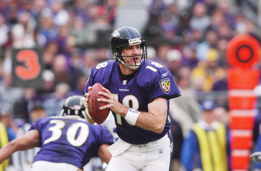 Ravens Elvis Grbac one of the worst NFL free agency deals of all time