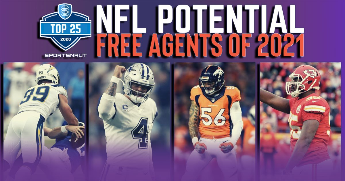 Best Nfl Free Agents 2021 Top 25 potential NFL free agents of 2021