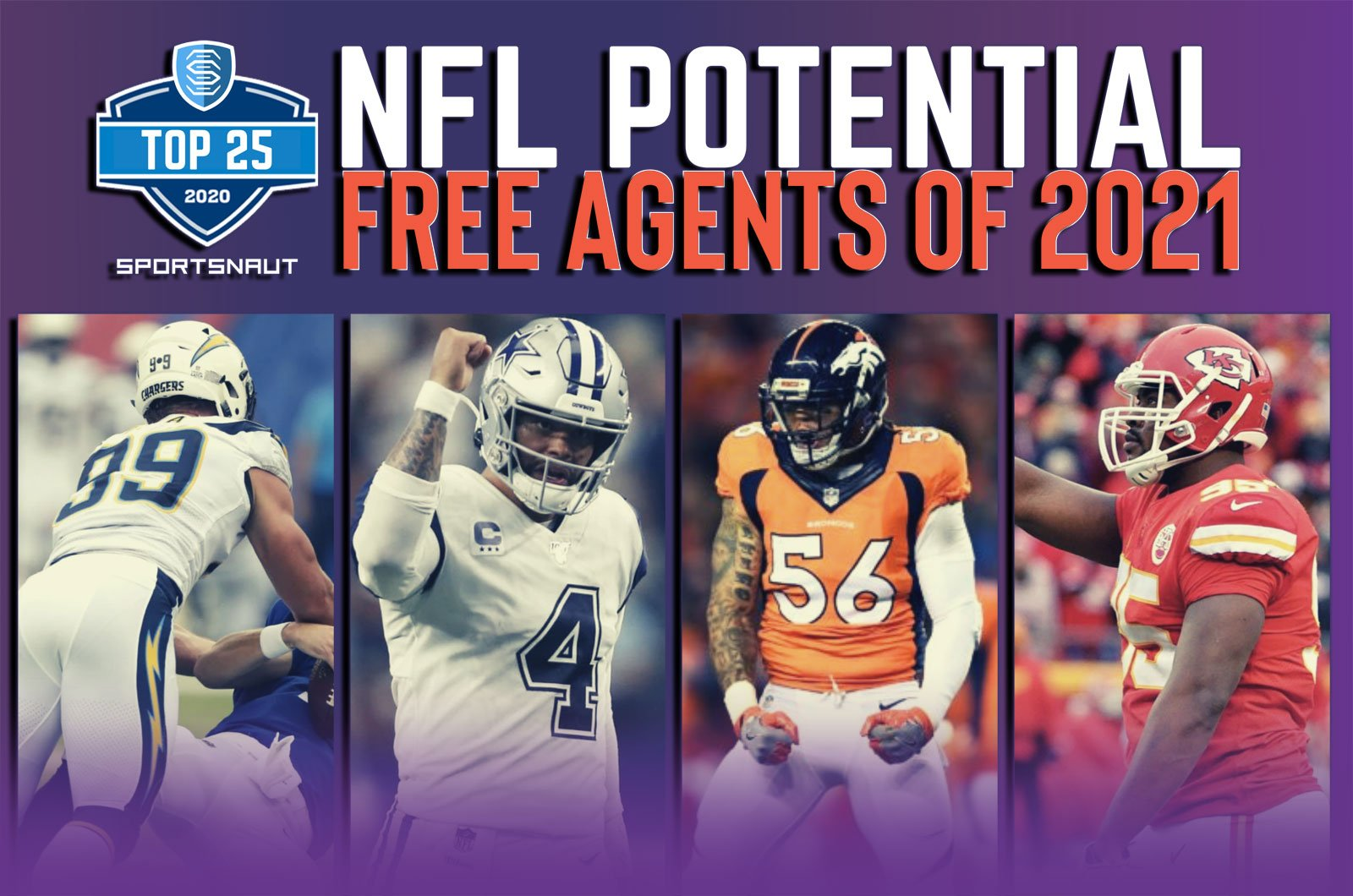Best Free Agents Nfl 2021 Top 25 potential NFL free agents of 2021