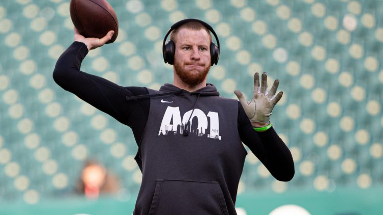 Could Carson Wentz become the 49ers quarterback?