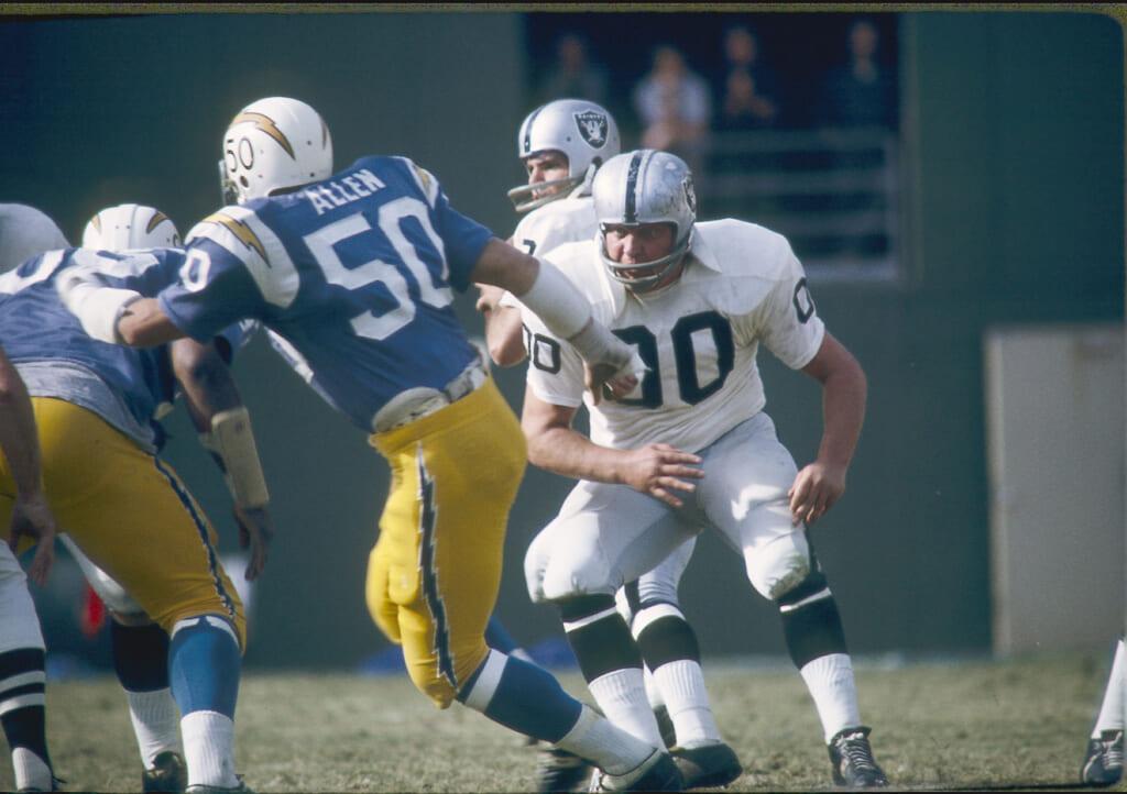 Oakland Raiders center Jim Otto