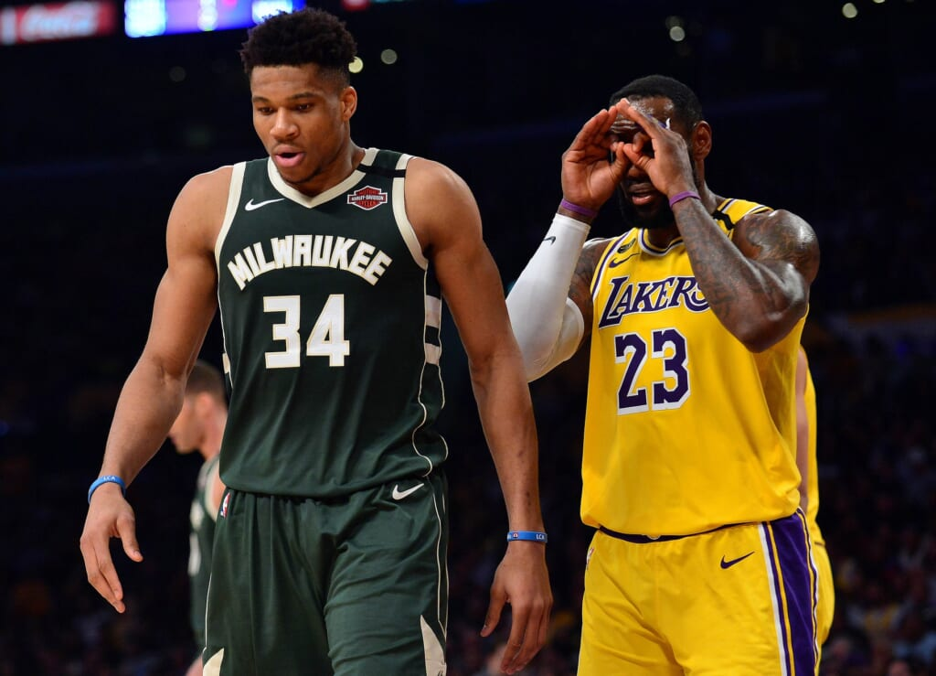 Could Giannis Antetokounmpo join the Lakers?