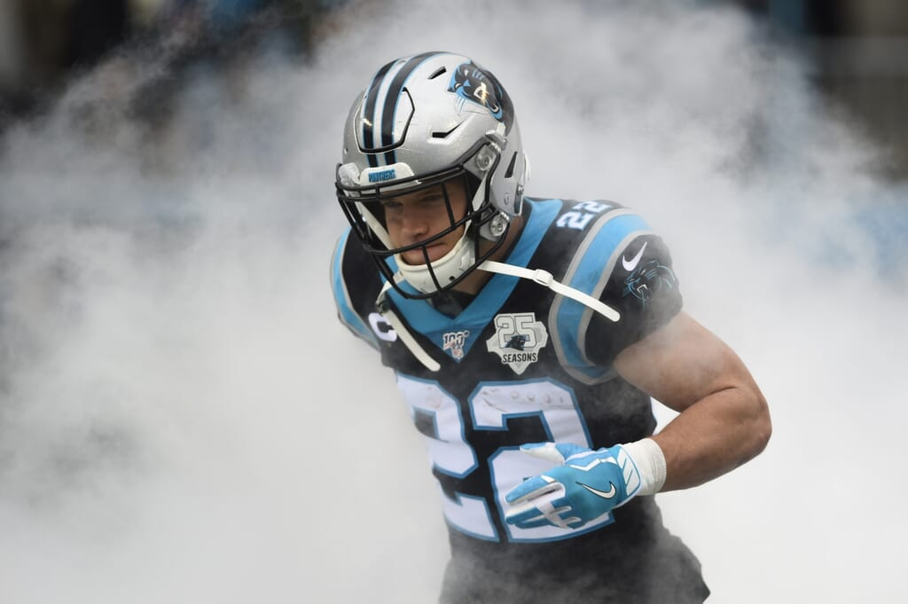Tampa Bay Buccaneers news: They'll face the Panthers without Christian McCaffrey