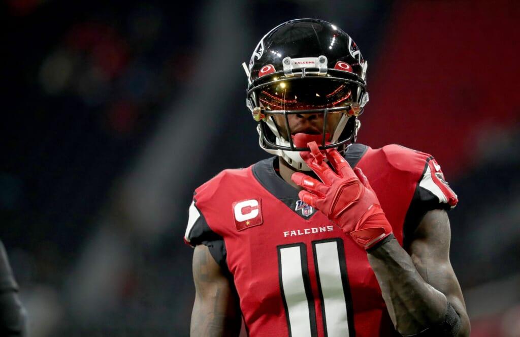 Falcons-WR-Julio-Jones-during-NFL-game-against-Jaguars