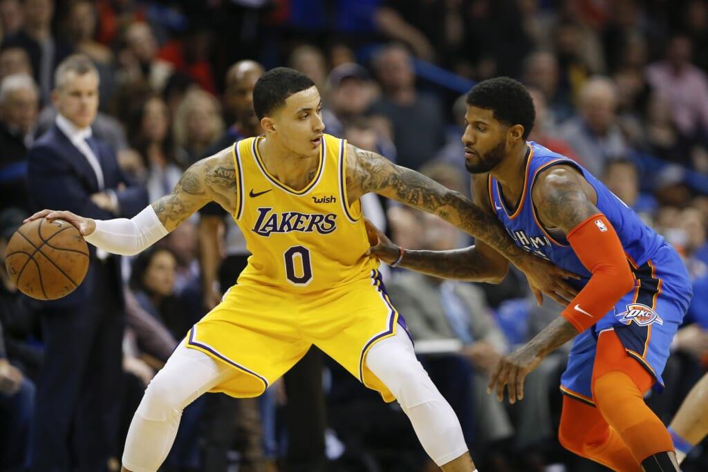 Lakers news: Kyle Kuzma extension