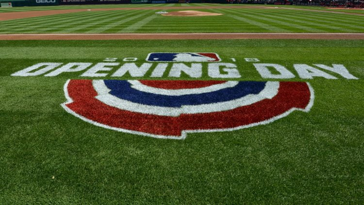 Nationals and Mets MLB Opening Day