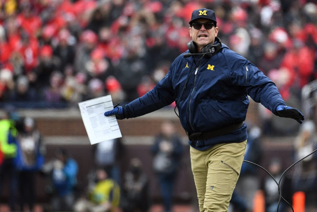 Ohio State head coach claps back at Jim Harbaugh: 'Going to hang 100 on them'