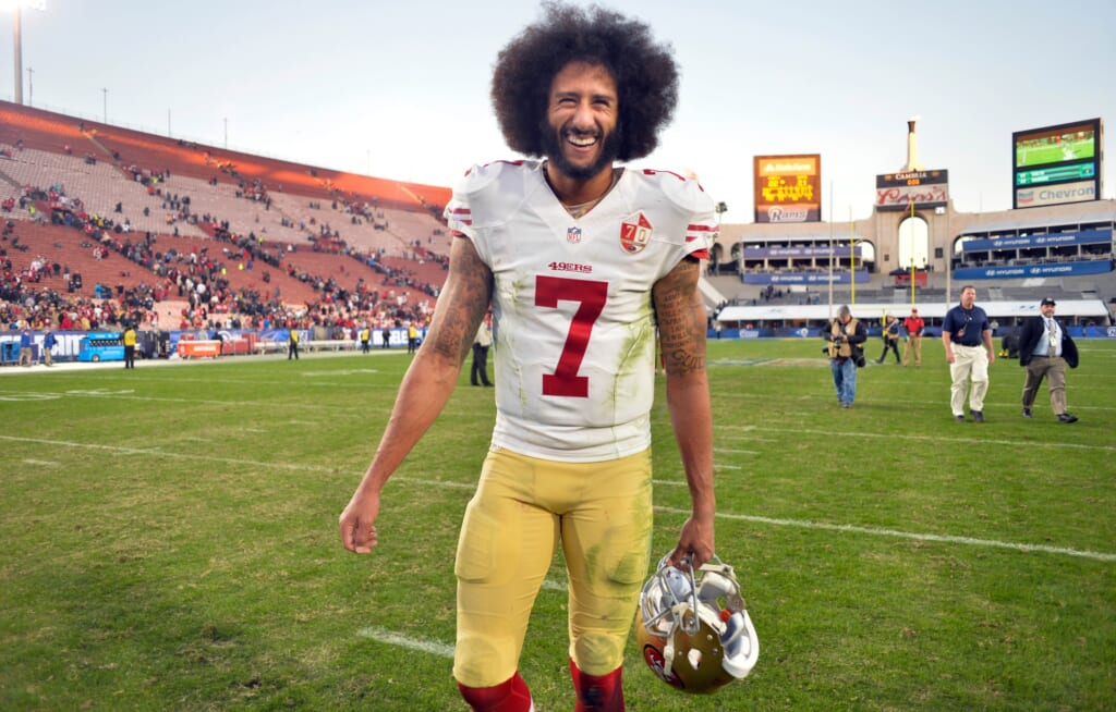 NFL reportedly had interest in Colin Kaepernick in 2020