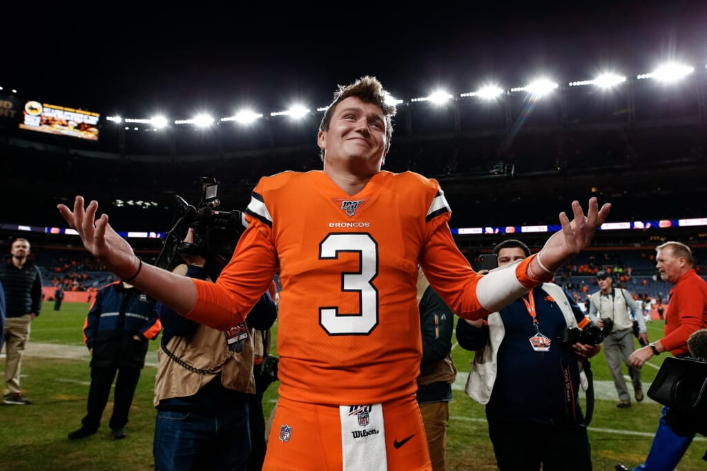 Broncos news: Drew Lock has not helped Vic Fangio much