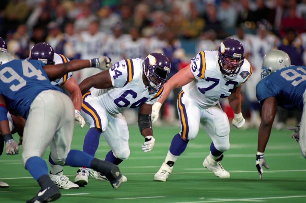 Minnesota Vikings guard Randall McDaniel
