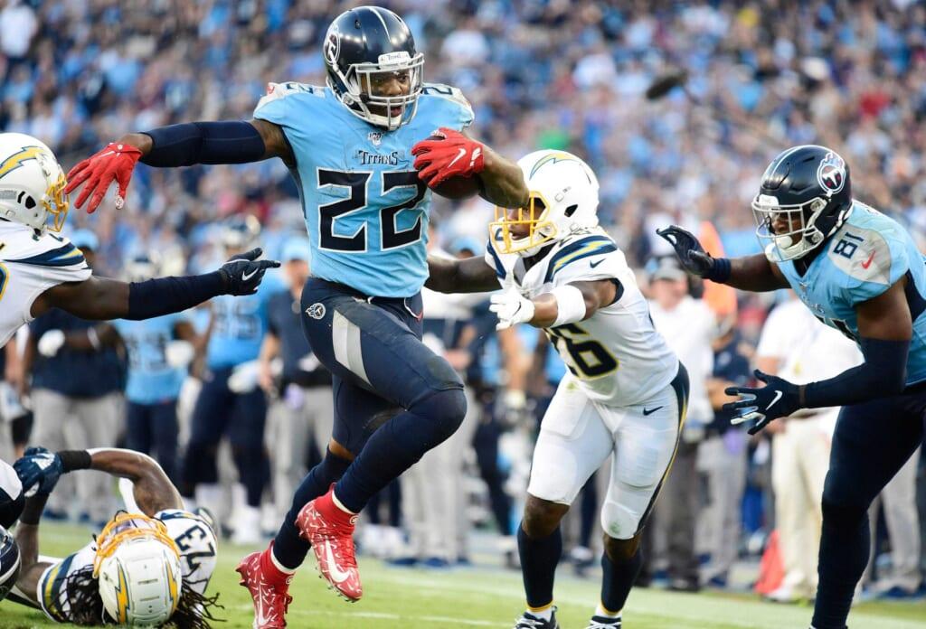 NFL Week 15: Lions-Titans, Derrick Henry