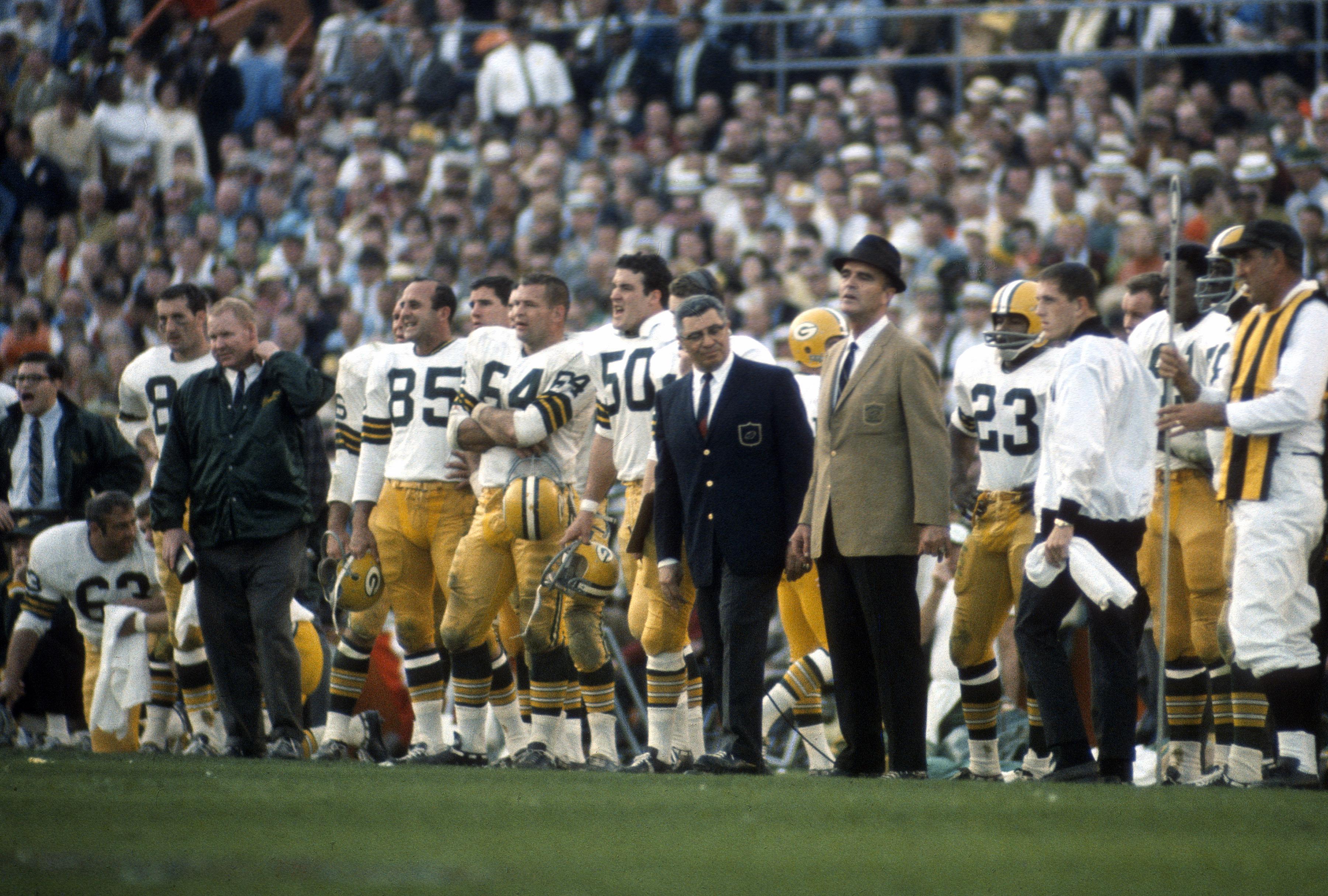 Super Bowl II - Green Bay Packers v Oakland Raiders