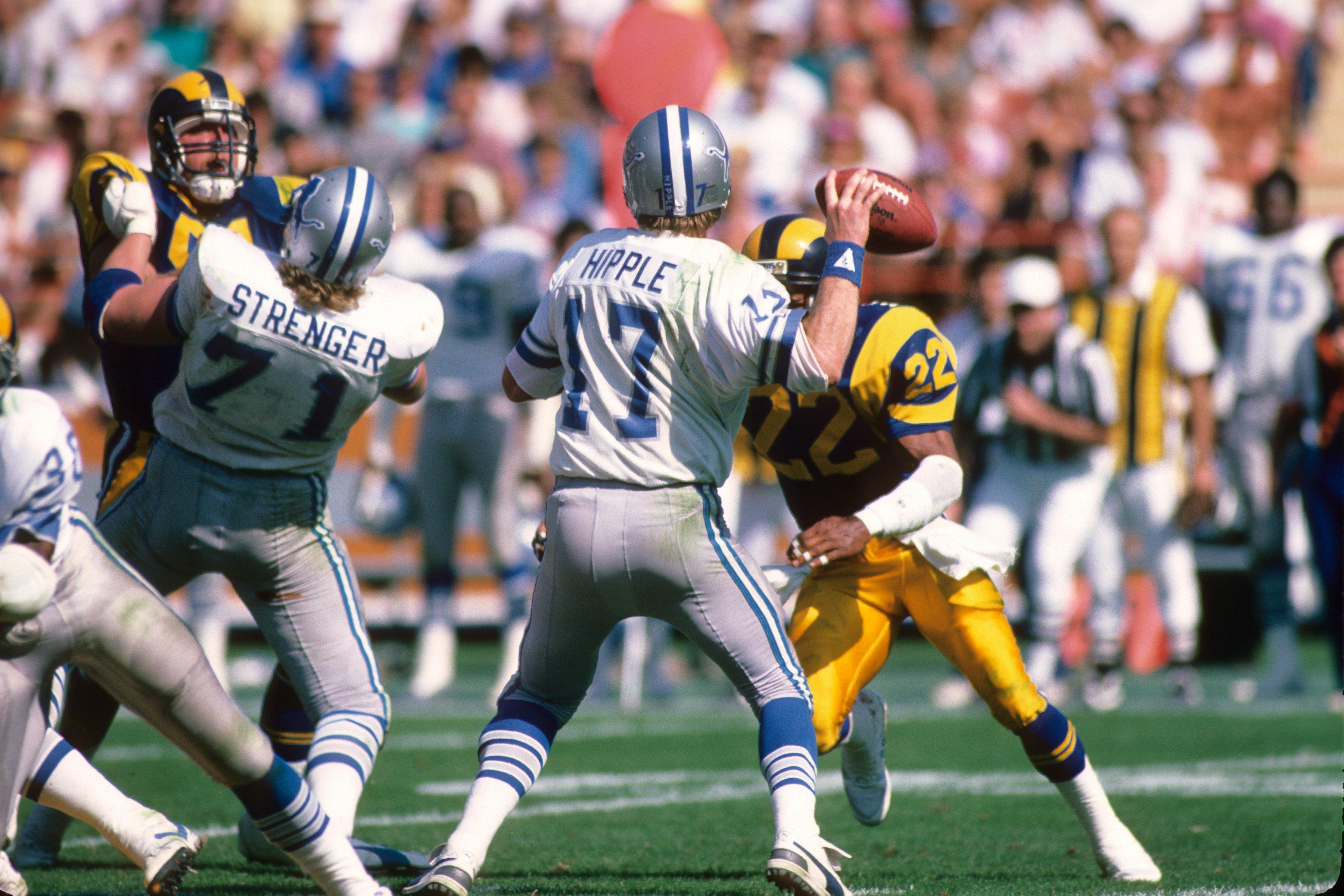 Detroit Lions v Los Angeles Rams