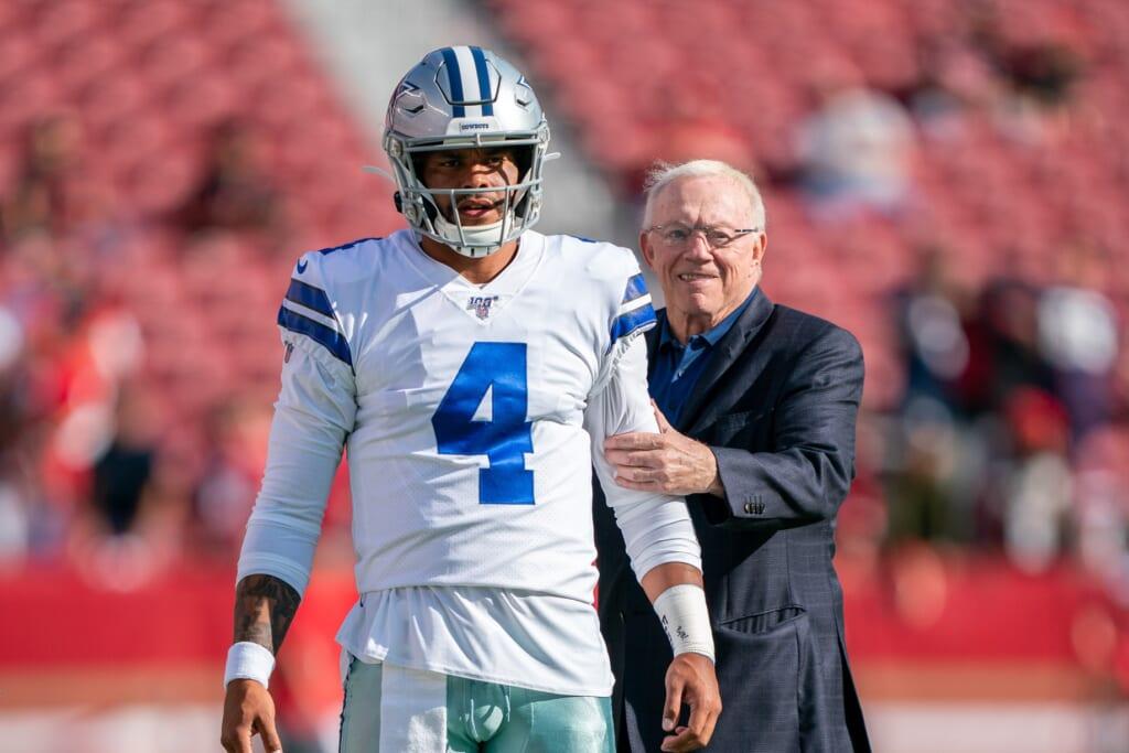 Dallas Cowboys news: Jerry Jones, Dak Prescott