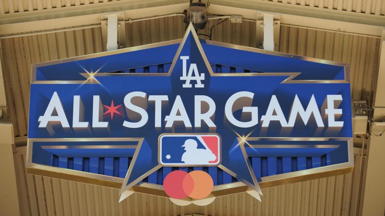 2020 MLB All-Star Game logo in Los Angeles