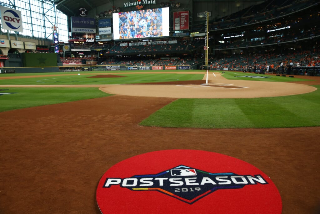 MLB wants to host fans for NLCS and 2020 World Series