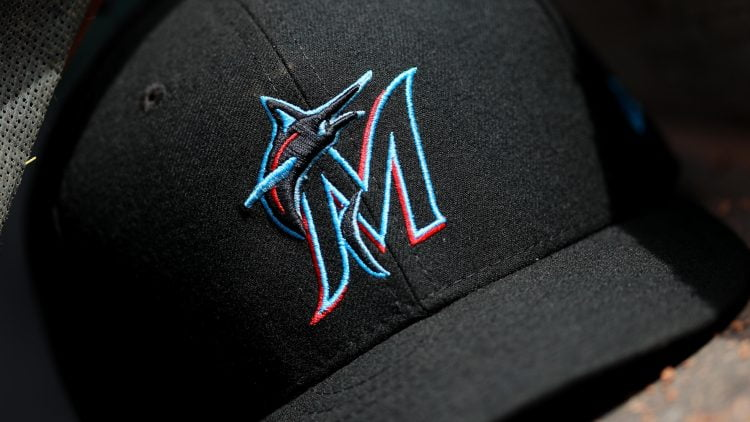 Miami Marlins hat and logo
