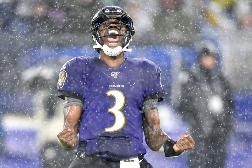 Baltimore Ravens QB Robert Griffin III