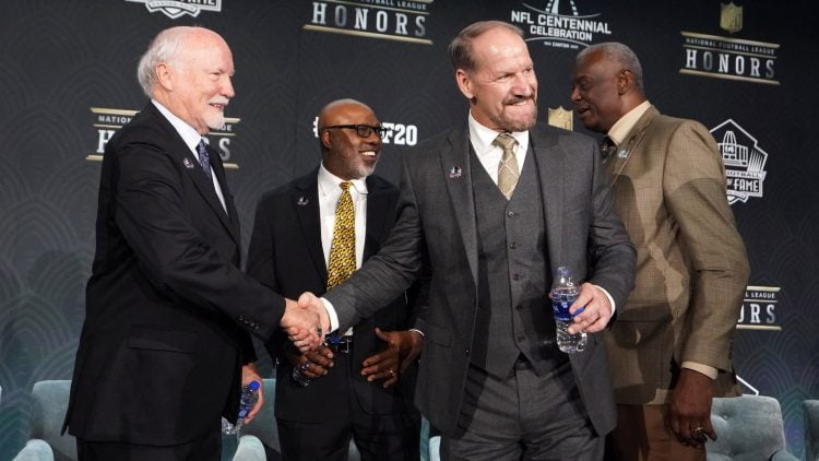 Former Steelers head coach Bill Cowher at NFL honors