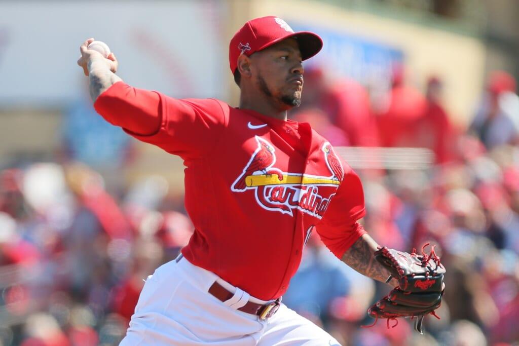 Cardinals closer Carlos Martinez