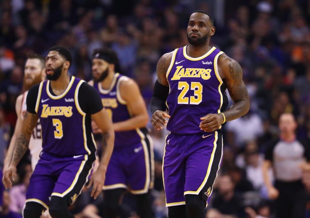 NBA defensive rankings: Lakers