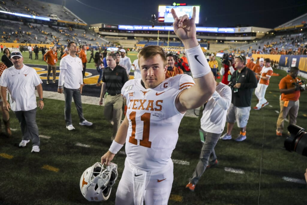 Las Vegas Raiders quarterback options: Sam Ehlinger