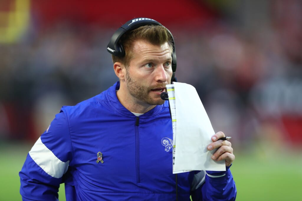 Report: ESPN talked to Rams HC Sean McVay about Monday Night Football gig
