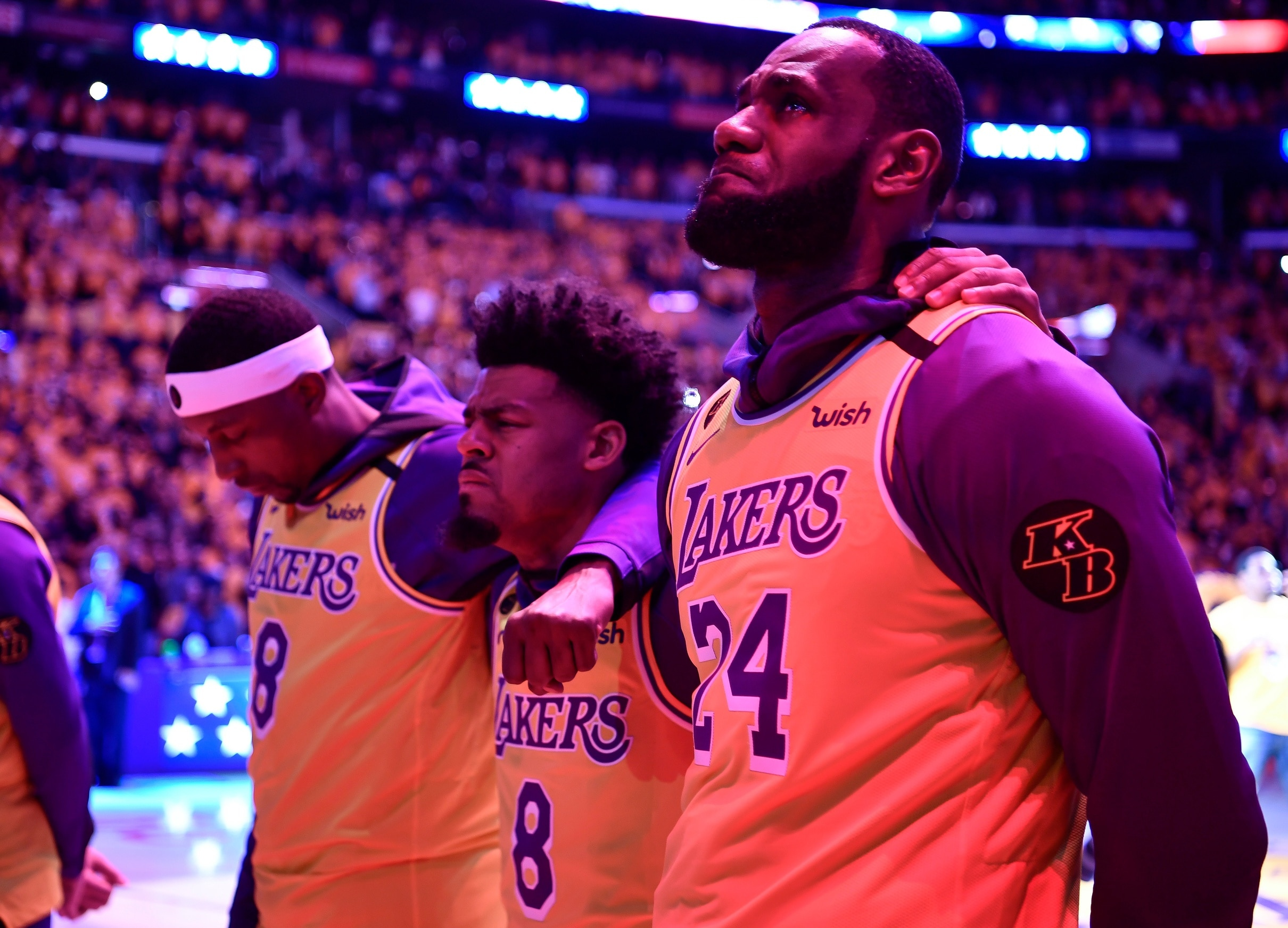 LOOK: Lakers to wear Black Mamba jerseys for Game 4 to honor Kobe ...