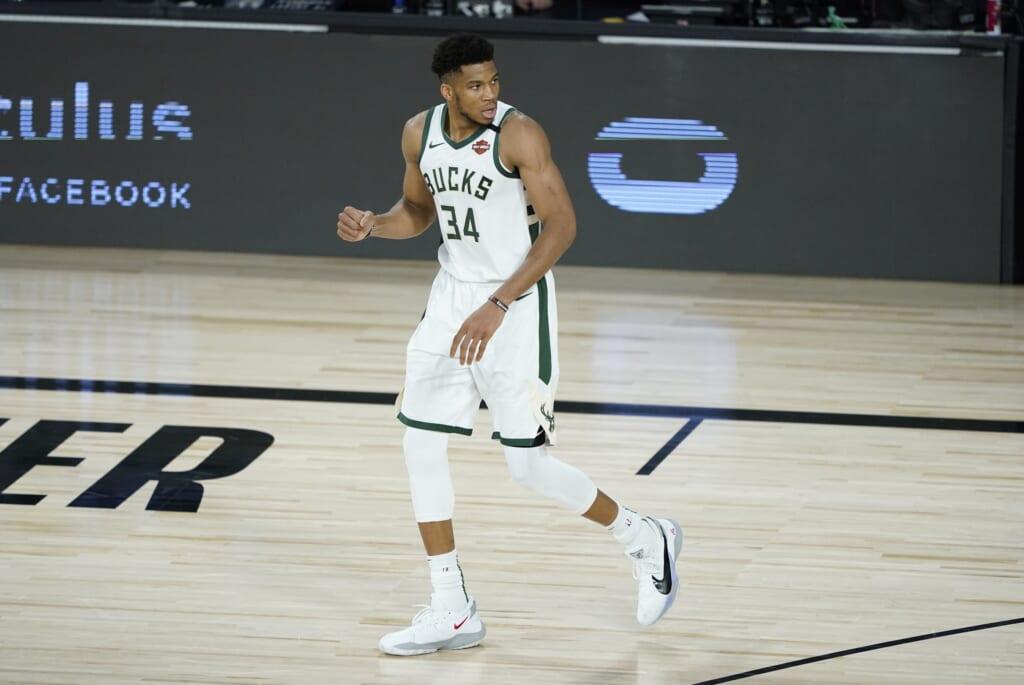 NBA MVP: Giannis Antetokounmpo