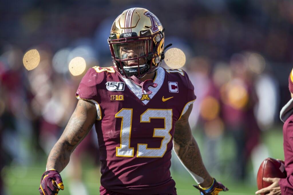 5 most underrated, huge-upside 2021 NFL Draft prospects: Rashod Bateman